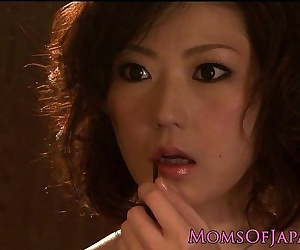 Closeup asian housewife fucked by her partner HD
