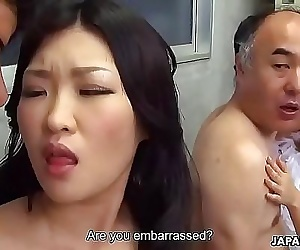 Two Japanese wives get fucked and facialized side by side 1 min 1 sec