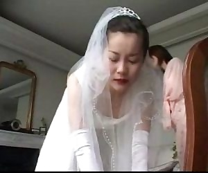 153 Spanking of June Bride -..