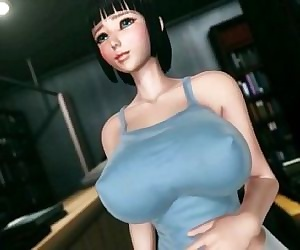 【Awesome-Anime.com】 Busty japanese got slave training - 25 min