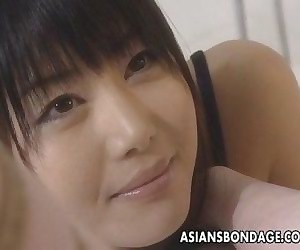 Asian lesbians brake it into..
