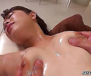 Japanese girl, Shiho Tachibana got fucked harder than ever, uncensored 5 min 1080p