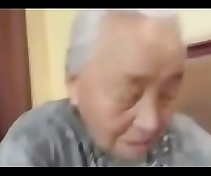 80yr old Japanese Granny Still Loves to Fuck (Uncensored) 5 min