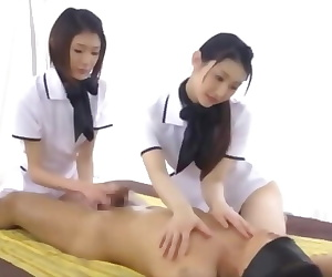 Japanese guy creampie orgasm during long sensual massage 2-4