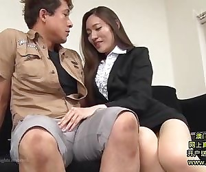 Hot Asian Secretary Takes..